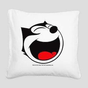 face4 Square Canvas Pillow