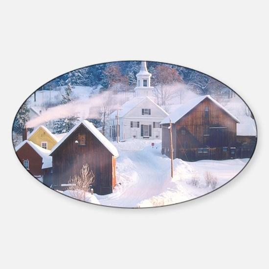 vt photo (1) Sticker (Oval)