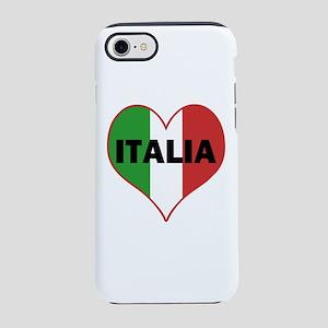 Peace Love Italy iPhone 7 Tough Case