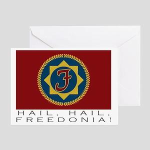 freedonialarge Greeting Card