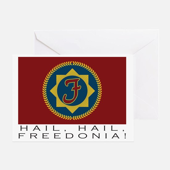 freedonialarge Greeting Card