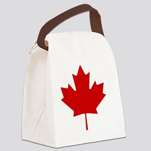 cafepressMapleLeaf Canvas Lunch Bag