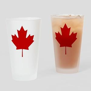 cafepressMapleLeaf Drinking Glass