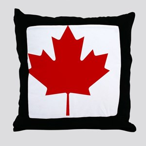 cafepressMapleLeaf Throw Pillow
