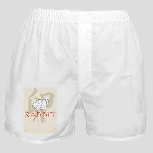 Usagidoshi - card front Boxer Shorts