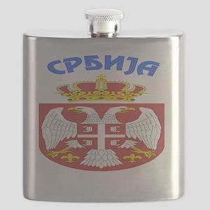 BlackZipHoodie Flask