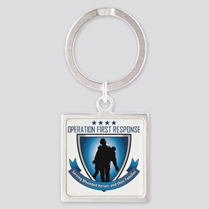 OperationFirsD11aR01aP01ZL (3) Square Keychain