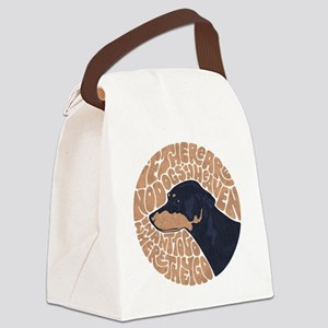 dog-heaven-DKT Canvas Lunch Bag
