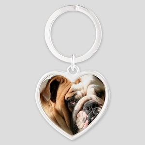 sooka head copy Heart Keychain