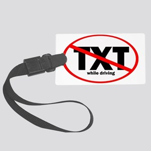 notext Large Luggage Tag