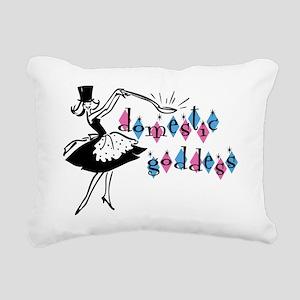 Domestic Goddess Rectangular Canvas Pillow