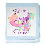 Zitong China baby blanket