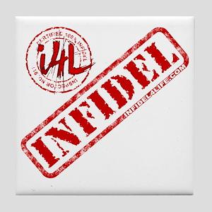 10x10_apparel_white Tile Coaster
