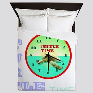 TURTLE TIME Queen Duvet