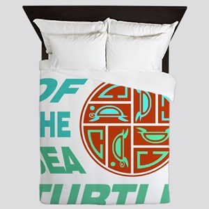 Clan of the Sea Turtle Queen Duvet