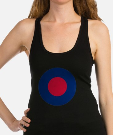 RAF Lowvis Army Roundel Racerback Tank Top