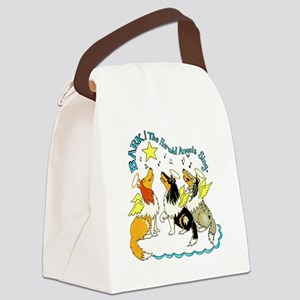 bark-the-herald Canvas Lunch Bag