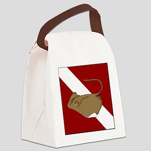 dive Da Canvas Lunch Bag