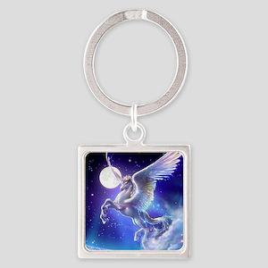Kagaya-StarryTales-Pegasus Square Keychain