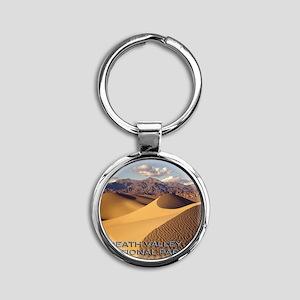 Deva1 Round Keychain