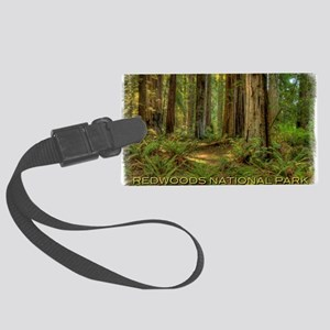 redwoods Large Luggage Tag