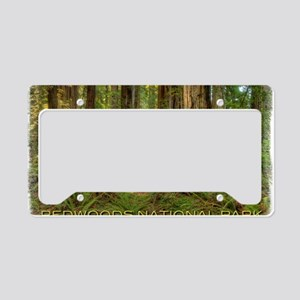 redwoods License Plate Holder