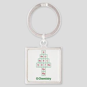 ValueTshirt_Ochemistry_FRONT Square Keychain