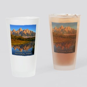 Tetons2 Drinking Glass