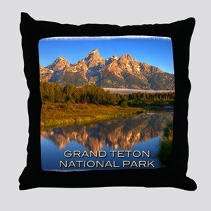 Tetons2 Throw Pillow
