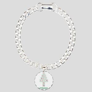 ValueTshirt_Ochemistry_F Charm Bracelet, One Charm