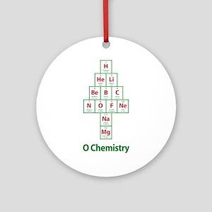 ValueTshirt_Ochemistry_FRONT Round Ornament