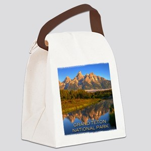 Tetons2 Canvas Lunch Bag