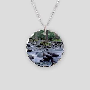SMOKIES1 Necklace Circle Charm