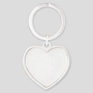 eskimo Heart Keychain