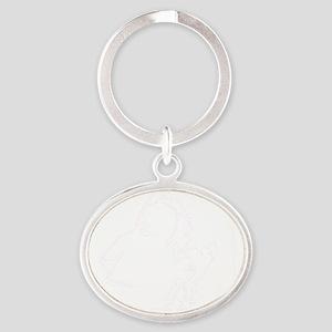 eskimo Oval Keychain