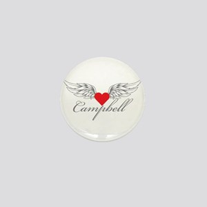 Angel Wings Campbell Mini Button