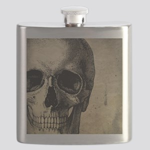 OldSkull_ipad Flask