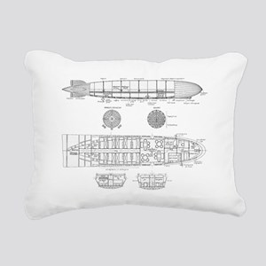 Zeppelin Rectangular Canvas Pillow