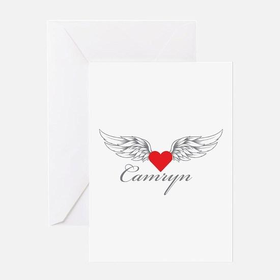 Angel Wings Camryn Greeting Cards