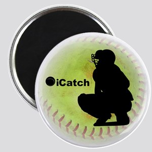 iCatch Fastpitch Softball Magnet