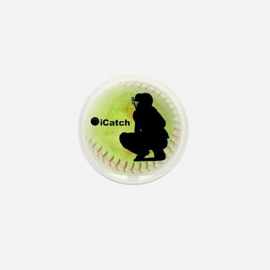 iCatch Fastpitch Softball Mini Button