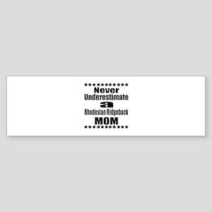 Rhodesian Ridgeback Mom Sticker (Bumper)