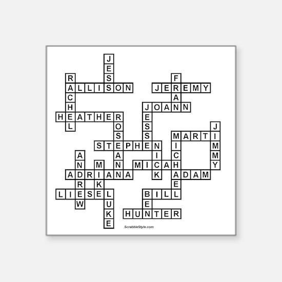 """EBNERa Square Sticker 3"""" x 3"""""""