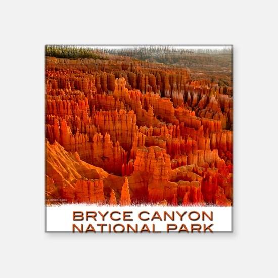 "Bryce2 Square Sticker 3"" x 3"""