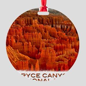 Bryce2 Round Ornament
