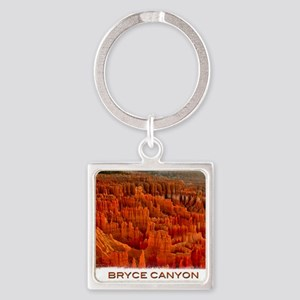 Bryce2 Square Keychain