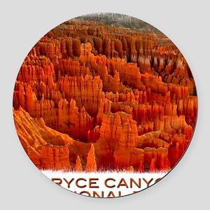 Bryce2 Round Car Magnet