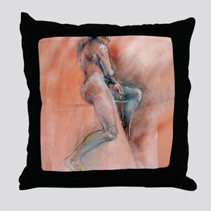 Beautiful Body fine Art print16x20 Throw Pillow
