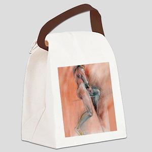 Beautiful Body fine Art print16x2 Canvas Lunch Bag