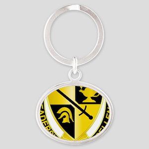 DUI - US - Army - ROTC Oval Keychain